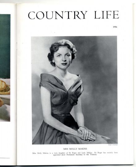 1956 COUNTRY LIFE Magazine 22 Nov LINDFIELD SUSSEX Molly Mary Makins DODINGTON PARK GLOS (3213)